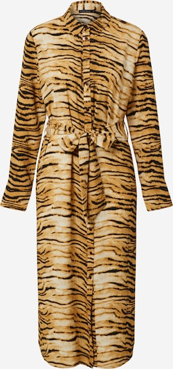 Rut & Circle Robe-chemise 'SOFI' en marron, Vue avec produit