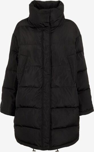PIECES Mantel in schwarz, Produktansicht
