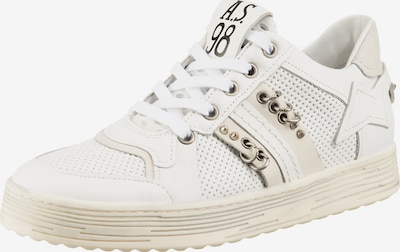 A.S.98 Sneakers Low in weiß, Produktansicht