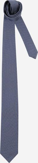 HUGO Krawatte in marine / taubenblau / weiß, Produktansicht