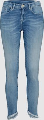 TOMMY HILFIGER Jeans 'NANNY' in Blauw denim