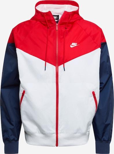 Nike Sportswear Tussenjas in de kleur Navy / Rood, Productweergave