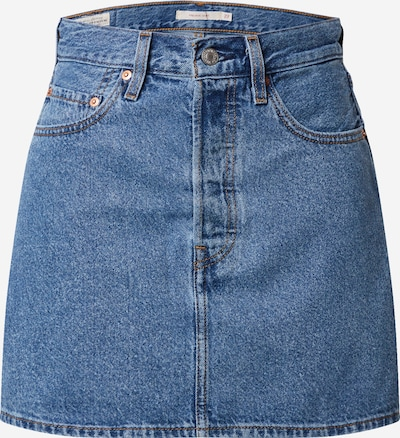 LEVI'S Skirt in blue denim, Item view