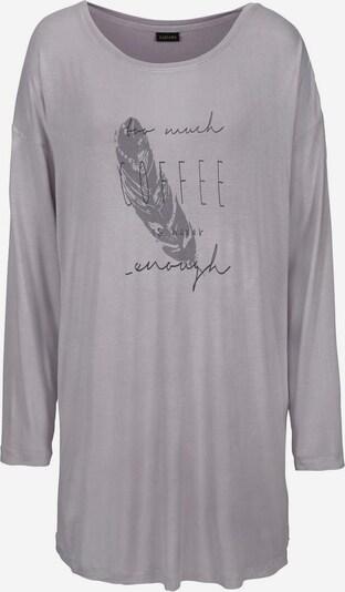 Camicia da notte LASCANA di colore grigio chiaro / grigio scuro, Visualizzazione prodotti