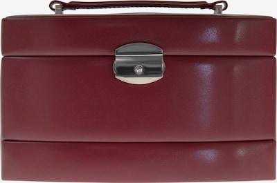 WINDROSE Schmuckkoffer 'Merino' in rot, Produktansicht