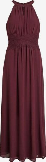 VILA Večerné šaty - vínovo červená, Produkt