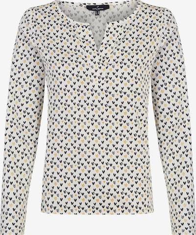 DANIEL HECHTER Bluse in gelb / schwarz / weiß, Produktansicht