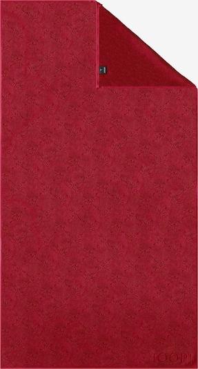 JOOP! Duschtuch 'Uni Cornflower' in karminrot, Produktansicht