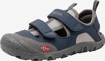 TROLLKIDS Sandale in blau / dunkelgrau, Produktansicht