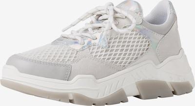s.Oliver Sneaker in hellgrau / weiß, Produktansicht