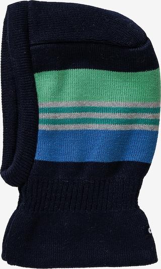 DÖLL Mütze in blau / nachtblau / grau / hellgrün, Produktansicht