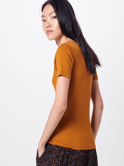 Marškinėliai 'Malina' iš ABOUT YOU , spalva - garstyčių spalva: Vaizdas iš galinės pusės
