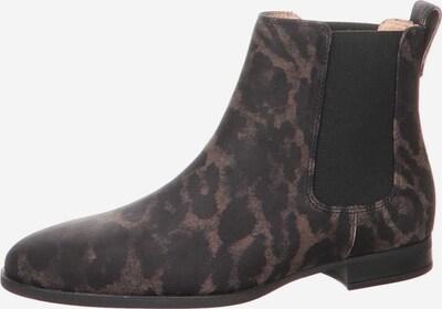 UNISA Chelsea boots in de kleur Bruin / Zwart, Productweergave