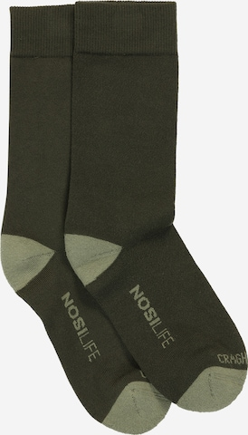 CRAGHOPPERS Socken 'NosiLifeTravel' in Grün