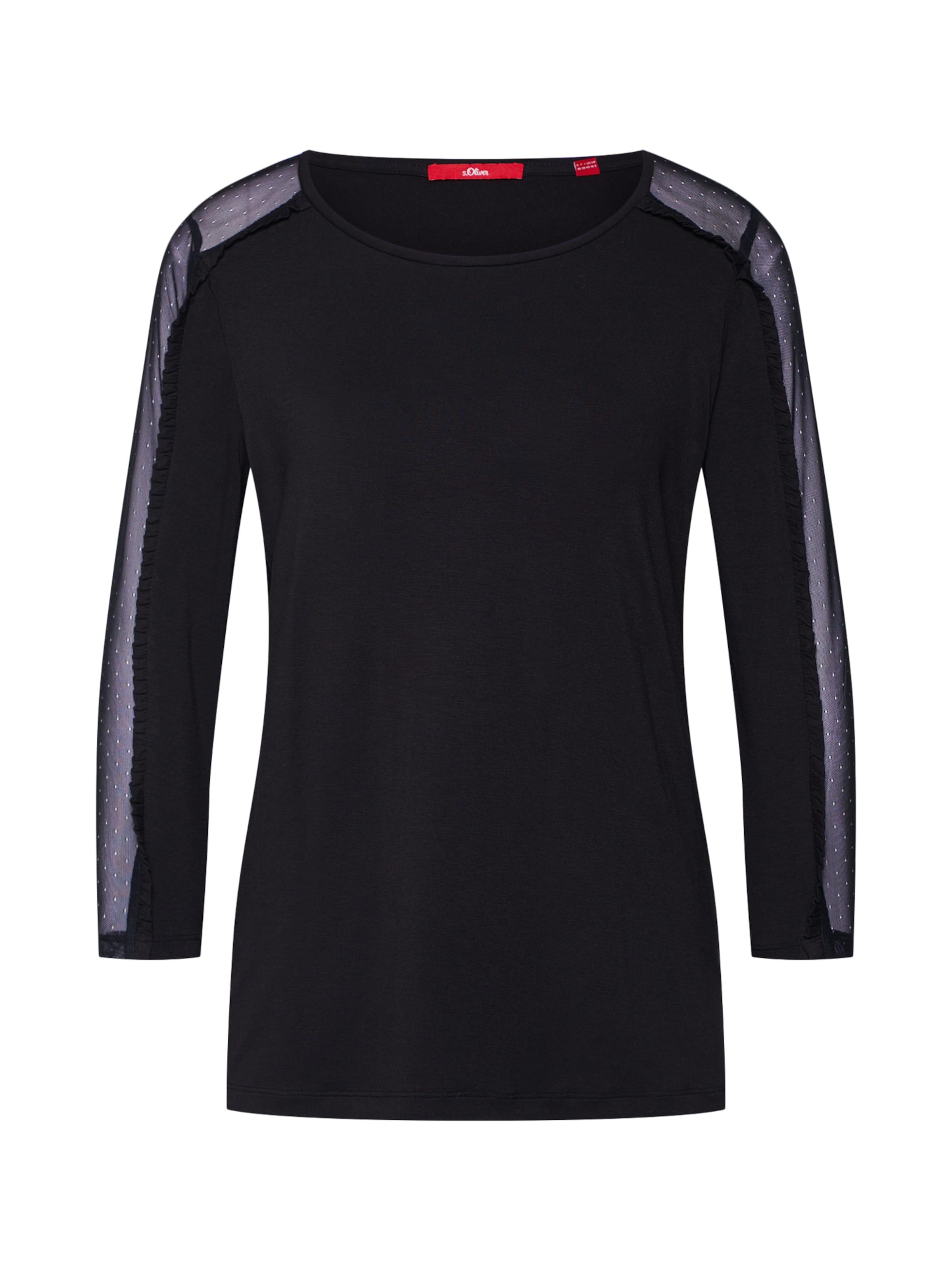 Red Shirt oliver Label Schwarz S In wOk0Pn