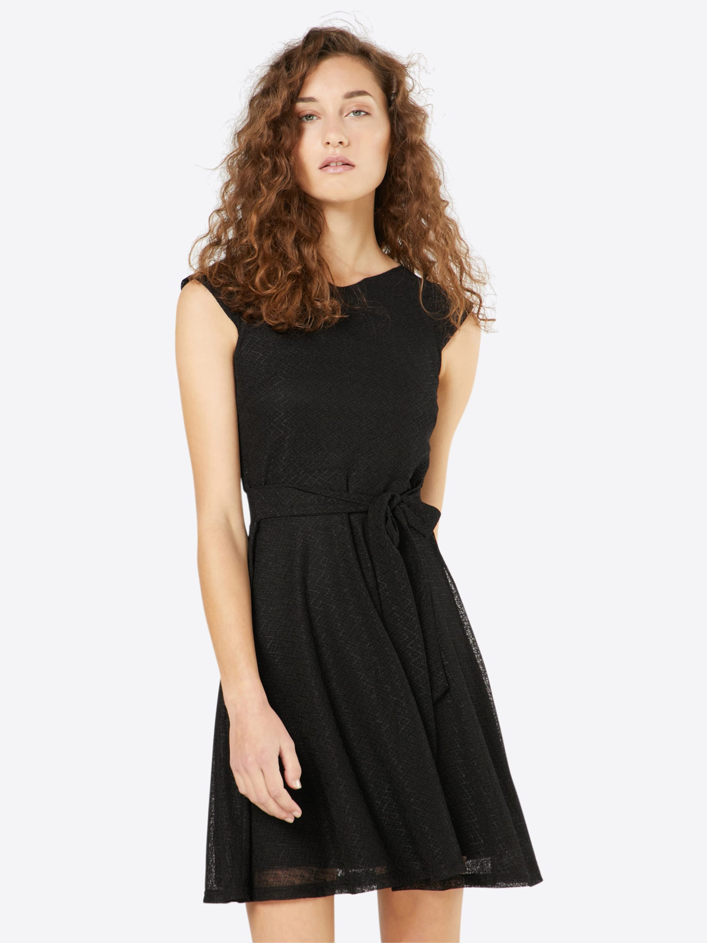 Mela London Kleid 'TEXTURED CAPPED' Verkauf Online-Shop IVcF9ZVkL1