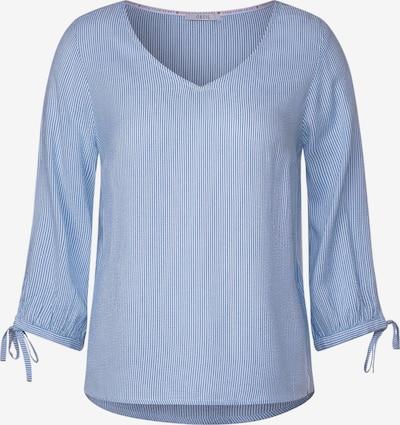 CECIL Bluse in blau: Frontalansicht