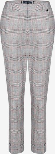 DANIEL HECHTER Hose in graumeliert / orangerot / schwarz, Produktansicht