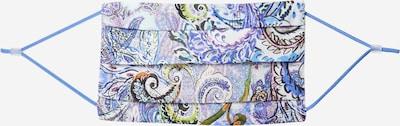 kék / vegyes színek CODELLO Szövetmaszk 'COVER UP PAISLEY': Elölnézet
