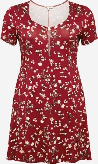 ABOUT YOU Curvy Robe d'été 'Ivana Dress' en mélange de couleurs / bordeaux, Vue avec produit