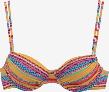 Hauts de bikini BUFFALO en mélange de couleurs