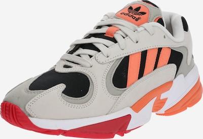 ADIDAS ORIGINALS Sneaker 'YUNG-1' in hellgrau / koralle / schwarz, Produktansicht