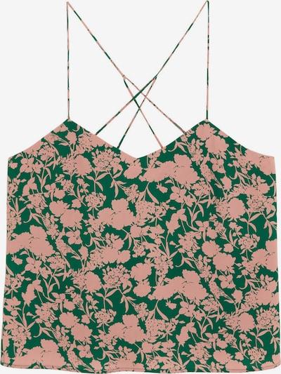 VIOLETA by Mango Top in de kleur Groen, Productweergave