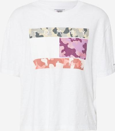 Tommy Jeans Shirt in mischfarben / weiß, Produktansicht