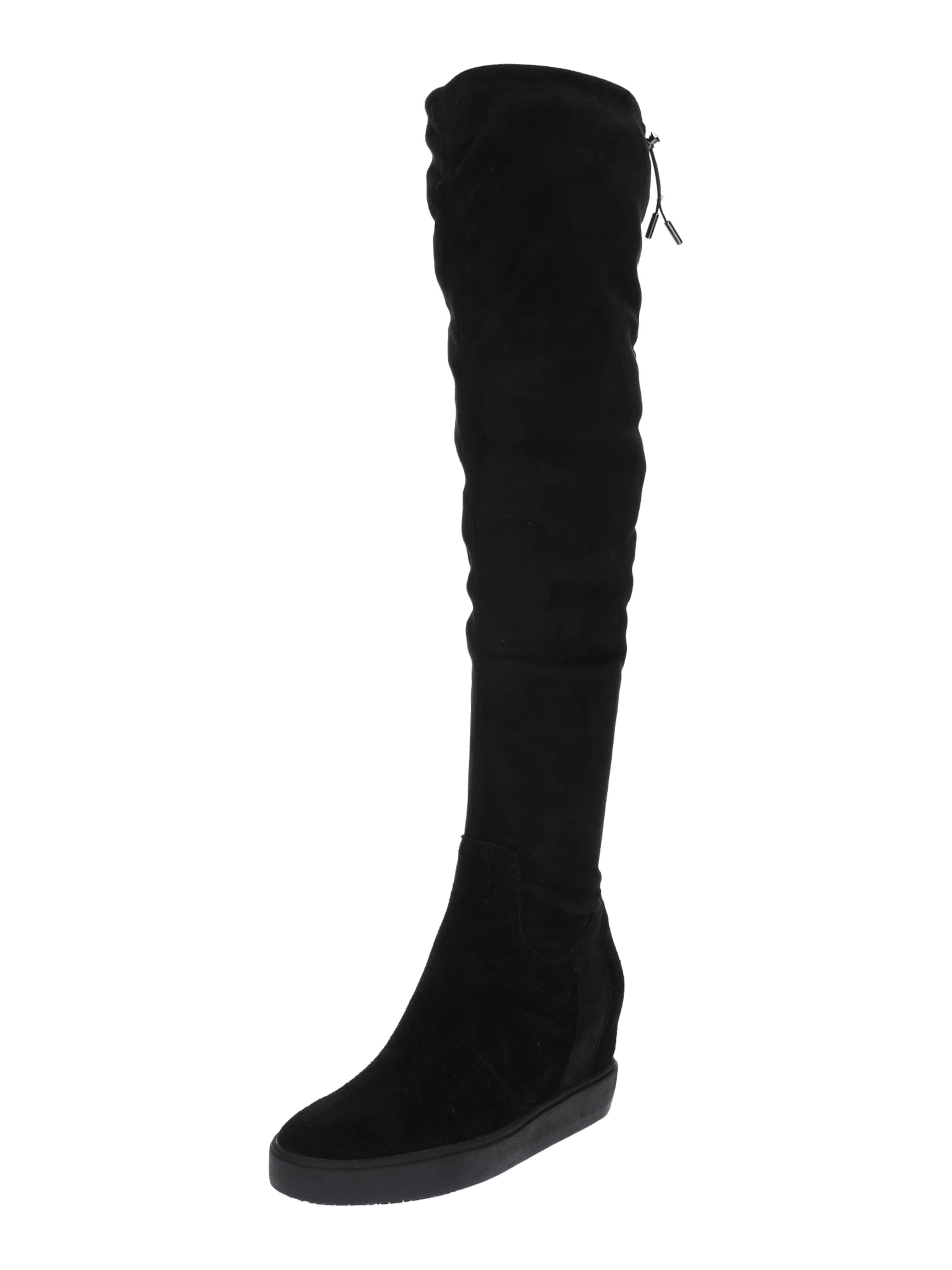 GUESS Overknee-Wedges FELICIA2 Verschleißfeste billige Schuhe