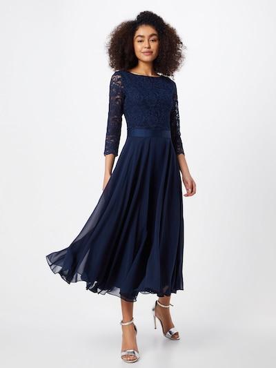 Vakarinė suknelė iš SWING , spalva - tamsiai mėlyna jūros spalva, Modelio vaizdas