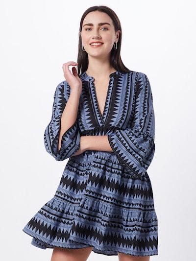 Rochie tip bluză 'ONLNAYA ATHENA ' ONLY pe albastru / negru, Vizualizare model
