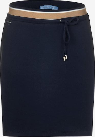 STREET ONE Spódnica w kolorze niebieska noc / jasnobrązowy / białym, Podgląd produktu