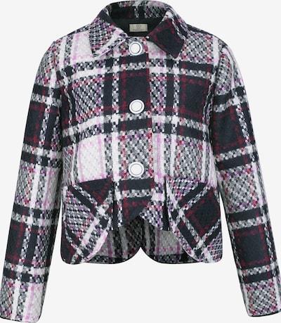 CUBIC Jacke in nachtblau / lila / rotviolett / weiß, Produktansicht