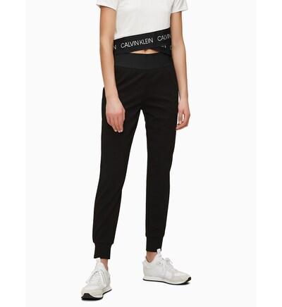 Calvin Klein Joggers 'Punto Roma' in schwarz, Modelansicht
