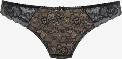 LASCANA String in de kleur Poederroze / Zwart, Productweergave
