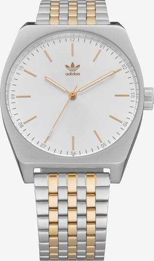 ADIDAS ORIGINALS Zegarek analogowy 'Process_M1' w kolorze złoty / srebrny / białym, Podgląd produktu