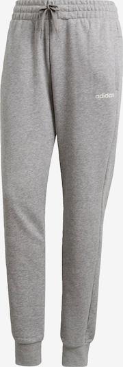 ADIDAS PERFORMANCE Pantalon de sport 'Essentials Solid' en gris chiné, Vue avec produit