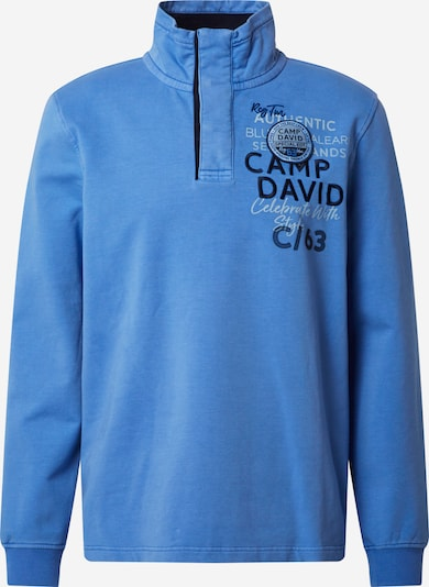 CAMP DAVID Sweatshirt in royalblau, Produktansicht