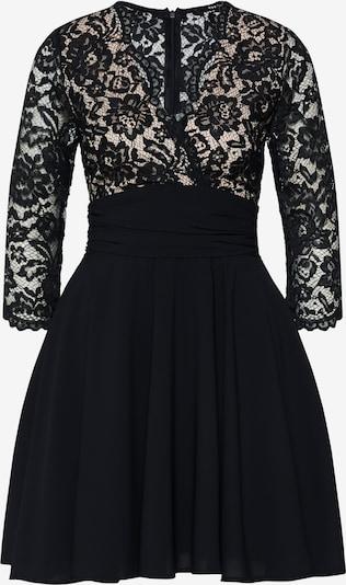 TFNC Koktejlové šaty 'YULIA' - tělová / černá, Produkt