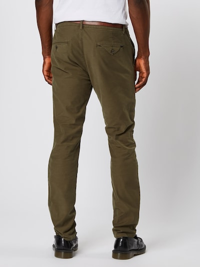 SCOTCH & SODA Pantalon chino 'STUART' en olive: Vue de dos