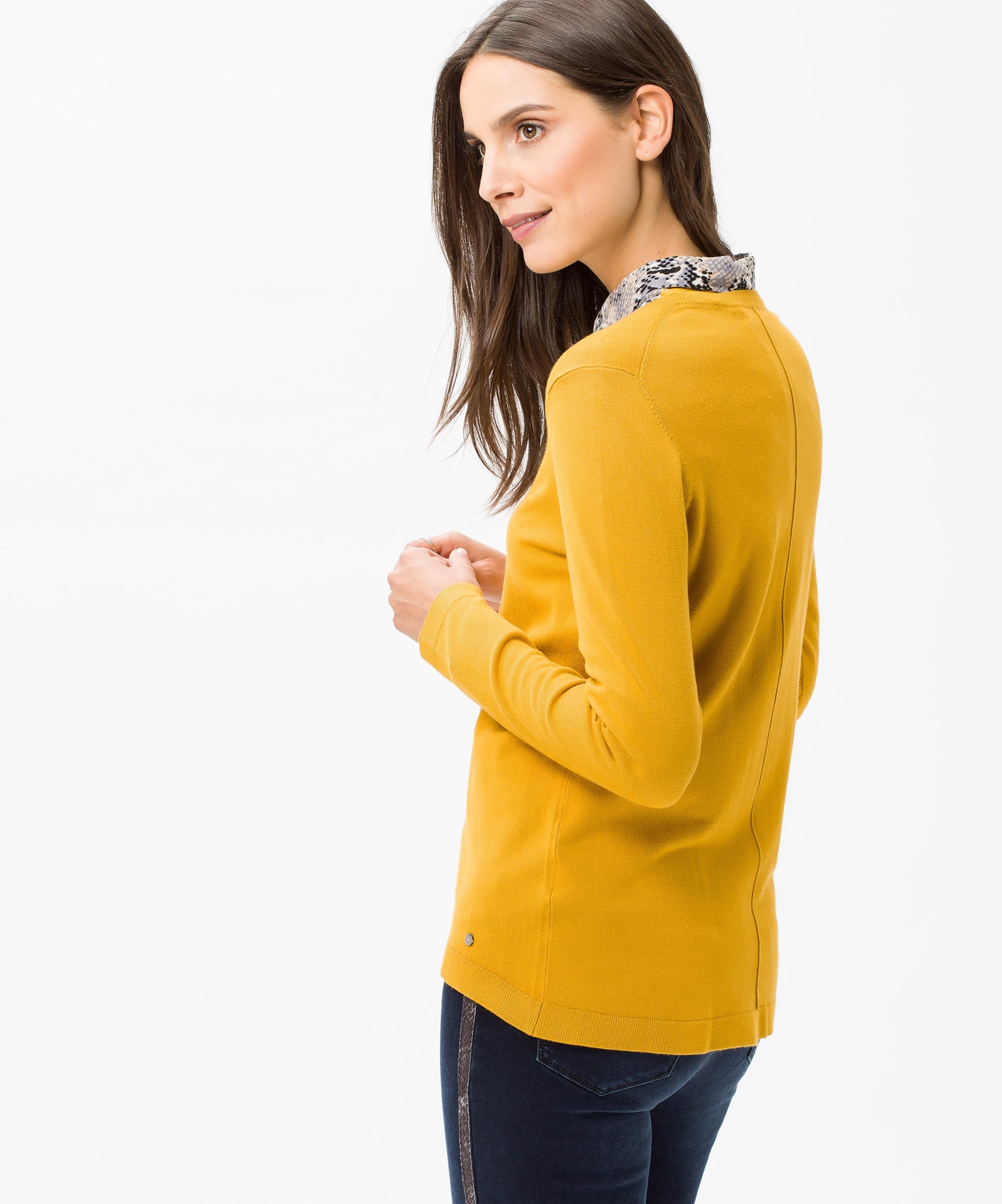 Brax In Pullover 'liz' 'liz' Pullover Gelb In Brax rxoCWdBe