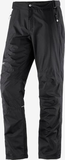 Maier Sports Raindrop Regenhose in schwarz, Produktansicht
