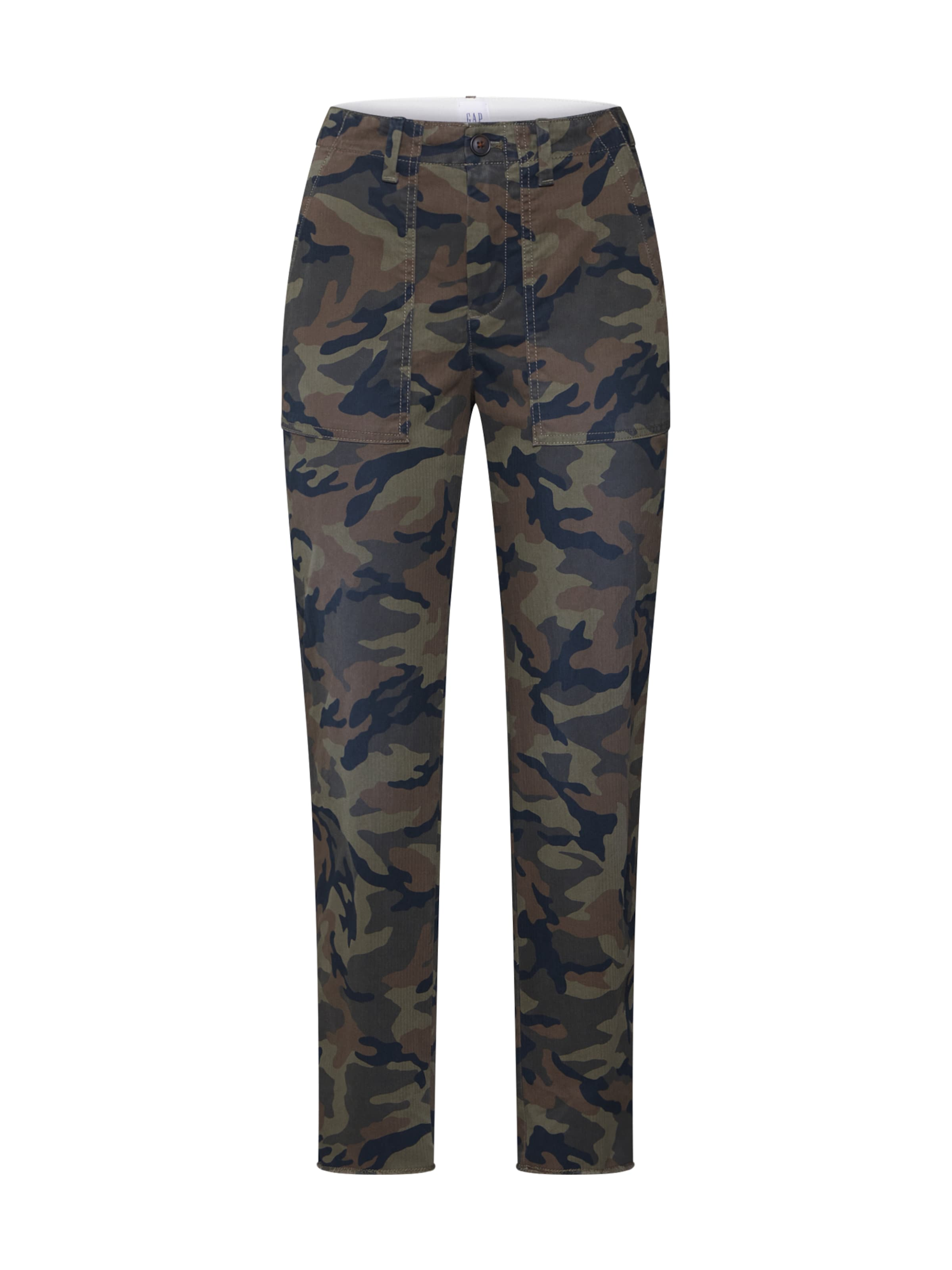 Utility Couleurs En Gap 'girlfriend Fray' Pantalon Chino VertMélange De wikXOPZuTl