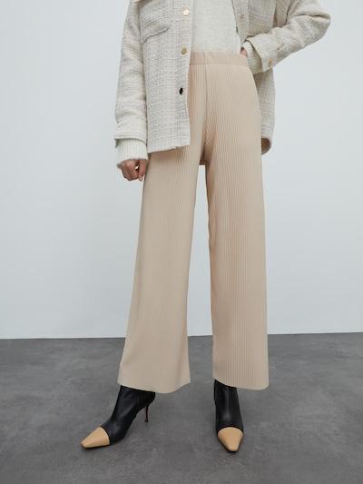 EDITED Kalhoty 'Liana' - béžová, Model/ka