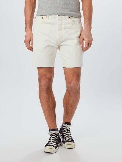 LEVI'S Shorts '501® '93' in weiß, Modelansicht