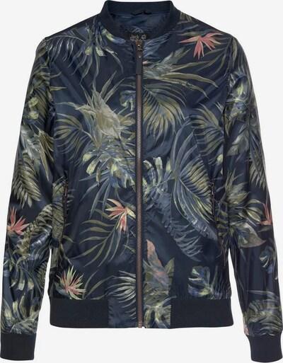 JACK WOLFSKIN Jacke 'Tropical' in marine / rauchblau / oliv, Produktansicht