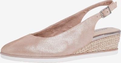 TAMARIS Cipele s potpeticom i otvorenom petom u pastelno roza, Pregled proizvoda