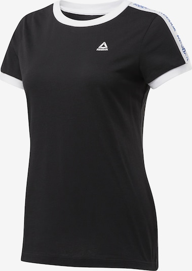 REEBOK Shirt 'Training Essentials Linear' in schwarz, Produktansicht