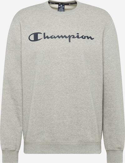 Champion Authentic Athletic Apparel Sweatshirt in dunkelblau / grau: Frontalansicht