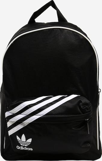 ADIDAS ORIGINALS Ryggsäck i svart / vit, Produktvy